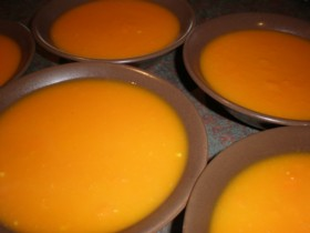 Cream Of Carrot Soup Recipe - A Hint Of Herbs