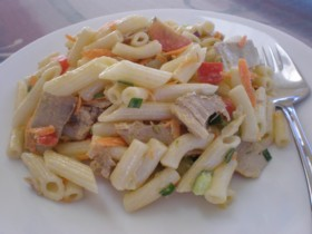 Easy recipe to make a pasta salad