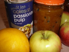 Lemon and Passionfruit Marmalade