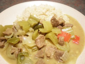 Not-Too-Hot Beef Curry